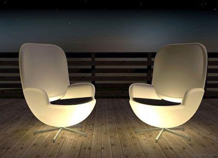 椅子都会发光了人类已经无法阻止创意的脚步音圈
