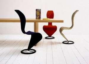 椅子也走性感路线身材呈现S型测速仪